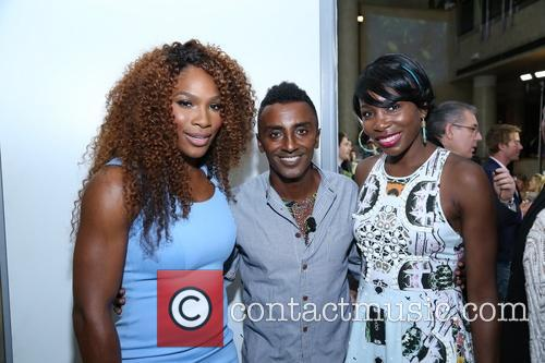 Venus Williams, Marcus Samuelsson and Williams 3