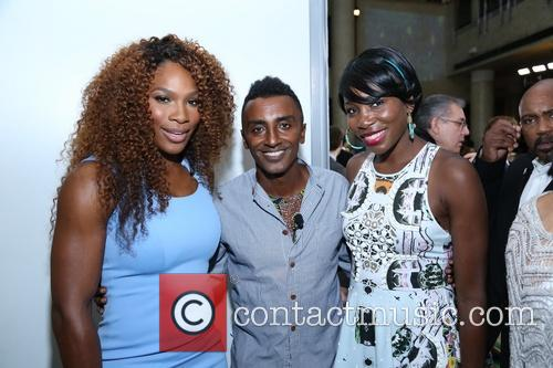 Venus Williams, Marcus Samuelsson and Williams 7