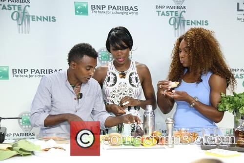 Venus Williams, Marcus Samuelsson and Williams 8