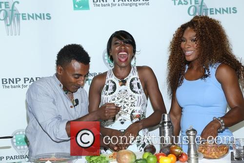 Venus Williams, Marcus Samuelsson and Williams 1