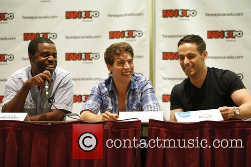 Kevin Hanchard, Jordan Gavaris and Dylan Bruce 4