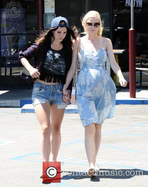 Jaime King and Lana Del Rey 9