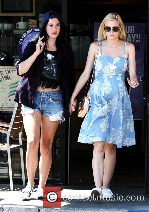 Jaime King and Lana Del Rey 12