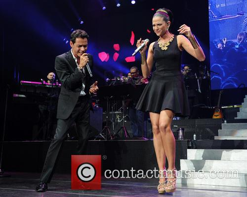 Marc Anthony and Natalia Jimenez 3