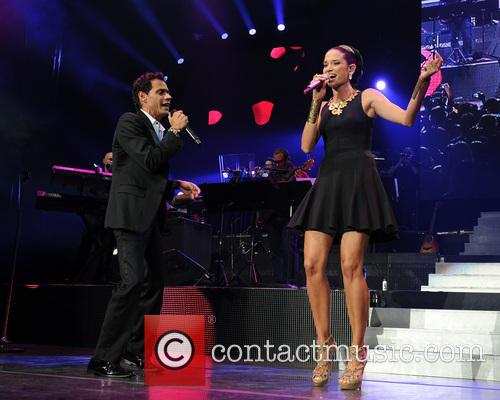 Marc Anthony and Natalia Jimenez 7