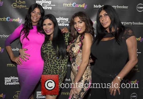 Andrea Dimichelle, Renee Graziano, Natalie Guerico and Big 1