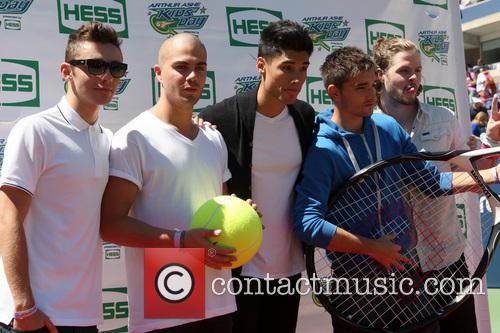 The Wanted, Max George, Siva Kaneswaran, Jay Mcguiness, Nathan Sykes and Tom Parker 2