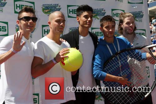 The Wanted, Max George, Siva Kaneswaran, Jay Mcguiness, Nathan Sykes and Tom Parker 3