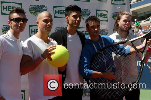 The Wanted, Max George, Siva Kaneswaran, Jay Mcguiness, Nathan Sykes and Tom Parker 5