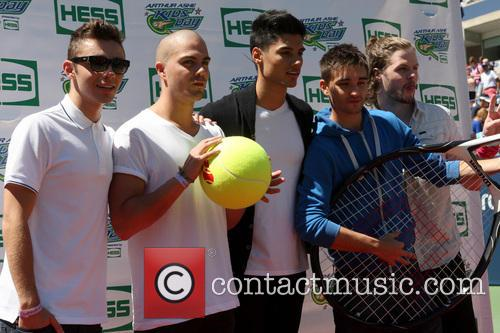 The Wanted, Max George, Siva Kaneswaran, Jay Mcguiness, Nathan Sykes and Tom Parker 6