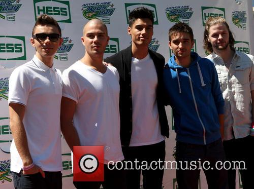 The Wanted, Max George, Siva Kaneswaran, Jay Mcguiness, Nathan Sykes and Tom Parker 7