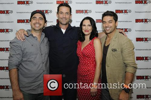 cameron porsandeh billy campbell kyra zagorsky mark ghanime fan expo 3833151