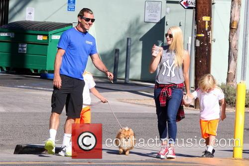 Gavin Rossdale, Kingston Rossdale and Zuma Rossdale 10