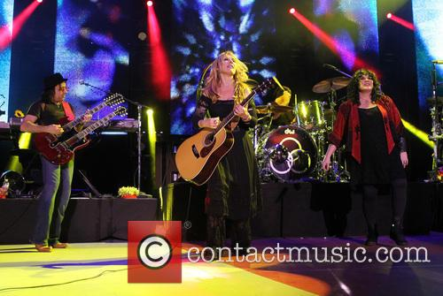 Nancy Wilson, Jason Bonham and Ann Wilson 3