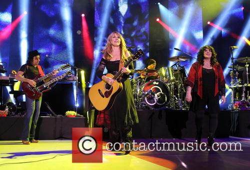 Nancy Wilson, Jason Bonham and Ann Wilson 1
