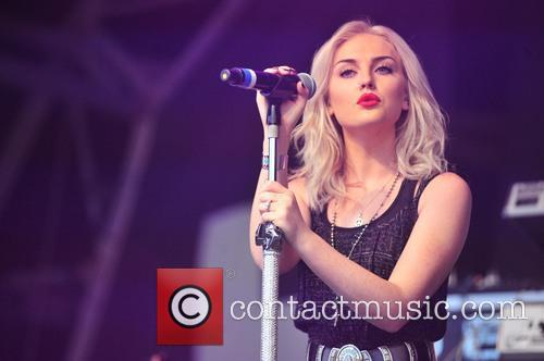 perrie edward little mix performing at limf 3833002