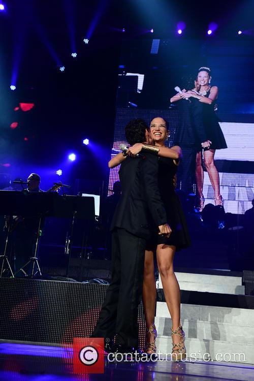 Marc Anthony, Natalia Jimenez, American Airline Arena