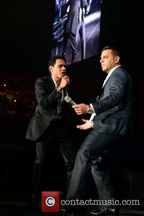 Marc Anthony and Tito El Bambino 2