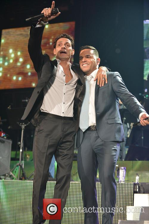 Marc Anthony and Tito El Bambino 9