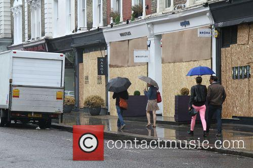 Wet Weather Pictures Preparing For The Carnival Tomorrow 4