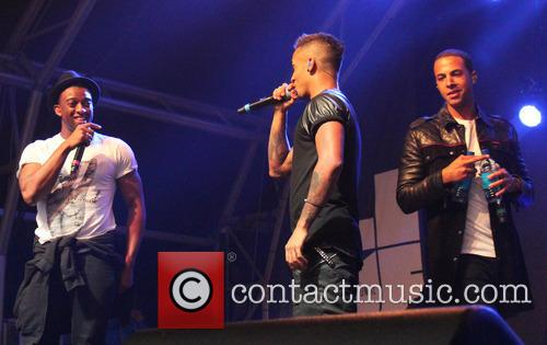 Oritse Williams, Aston Merrygold, Marvin Humes and Jls 3