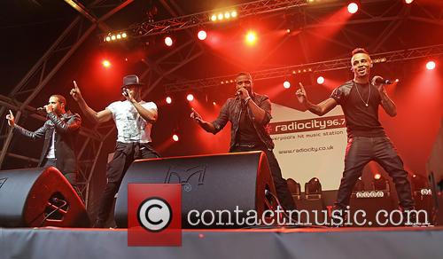 J.b. Gill, Oritsé Williams, Marvin Humes and Aston Merrygold 2
