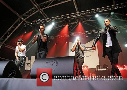 J.b. Gill, Oritsé Williams, Marvin Humes and Aston Merrygold 6