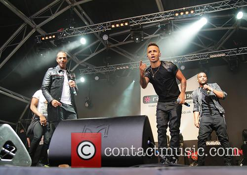 J.b. Gill, Oritsé Williams, Marvin Humes and Aston Merrygold 7
