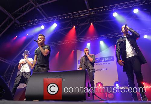 J.b. Gill, Oritsé Williams, Marvin Humes and Aston Merrygold 10
