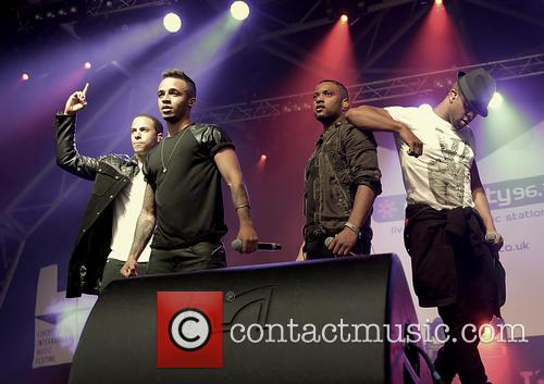 J.B. Gill, Oritsé Williams, Marvin Humes and Aston Merrygold 8