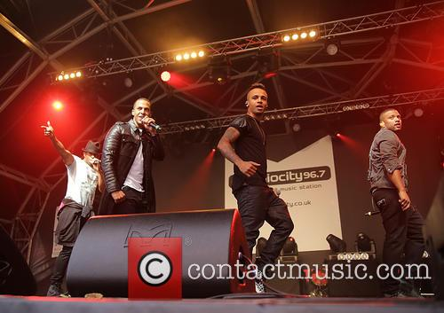 J.B. Gill, Oritsé Williams, Marvin Humes and Aston Merrygold 9