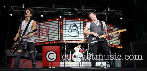 mcfly danny jones mcfly perform live at newmarket 3833479