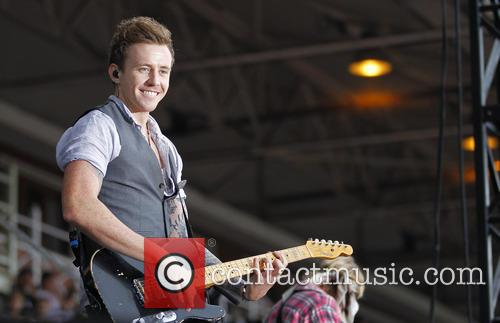mcfly danny jones mcfly perform live at newmarket 3833487