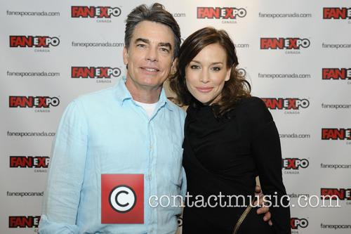 Peter Gallagher and Piper Perabo 2