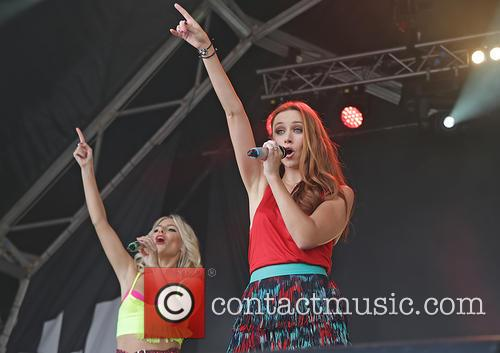 Mollie King, Una Healy and The Saturdays 4