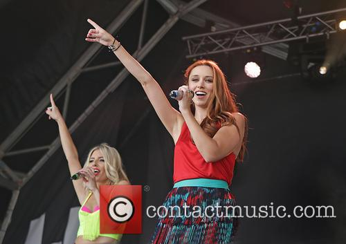 Mollie King, Una Healy and The Saturdays 8