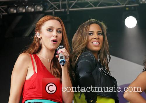 Una Healy, Rochelle Humes and The Saturdays 4