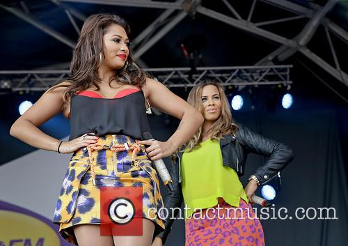Vanessa White, Rochelle Humes and The Saturdays 6