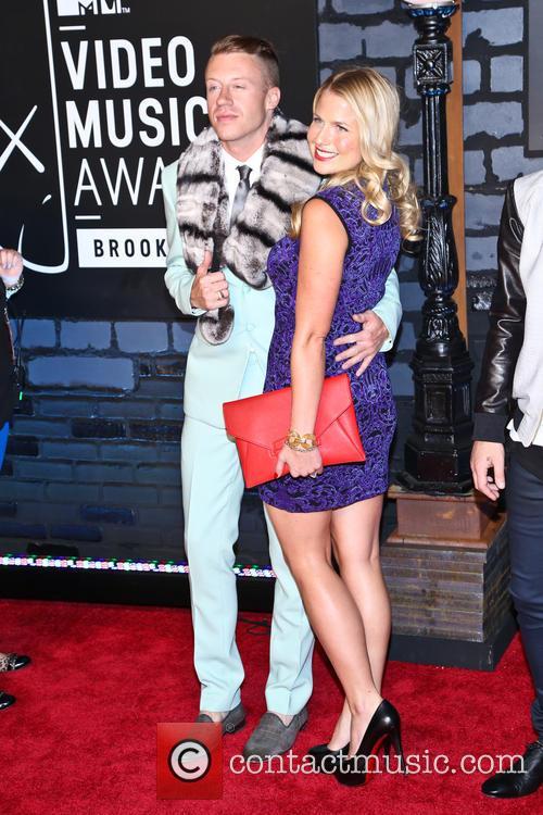 Macklemore and Tricia Davis 1