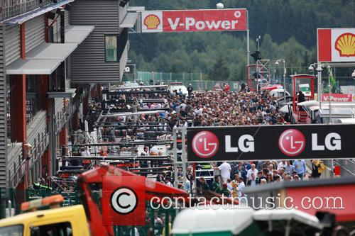 Pit Walk time in pit lane -, Olympia Hall