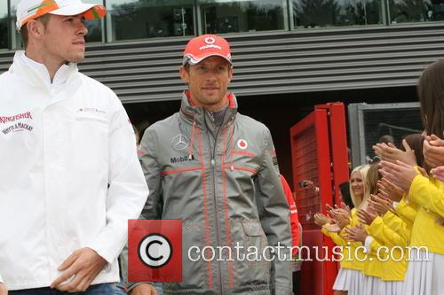 Jenson Button, Gb and Team Mclaren 5