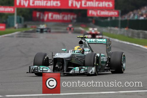 Lewis Hamilton and Mercedesgp 6