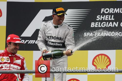 Lewis Hamilton and Mercedesgp 1