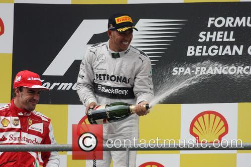 Lewis Hamilton and Mercedesgp 1
