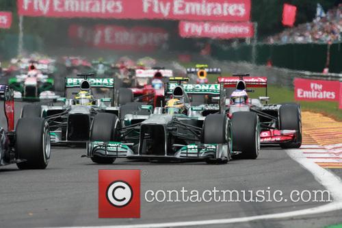 Lewis Hamilton, Mercedesgp and Start Lap - 8