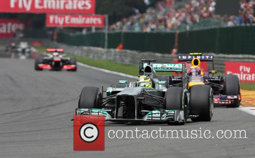 Nico Rosberg and Mercedesgp 2