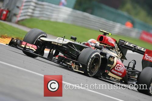 Romain Grosjean, France and Team Lotus Renault E21 - 1