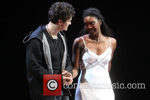 Orlando Bloom, Condola Rashad, Romeo and Juliet Curtain Call