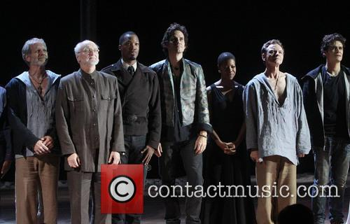 Orlando Bloom, Michael Rudko, Corey Hawkins, Christian Camargo, Roselyn Ruff, Brent Carver and Thomas Schall 7