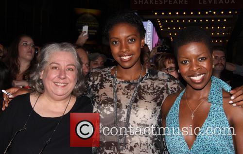 Jayne Houdyshell, Condola Rashad and Roselyn Ruff 1